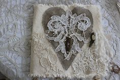 Vintage Love {and lace} journal/book