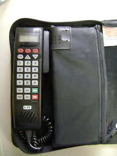 My first cell phone!!!! Wow!!!/car phone 1990