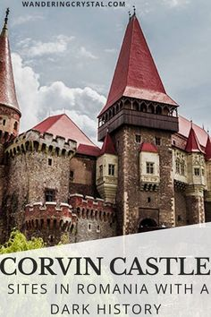 Corvin Castle has a dark history in Romania - find out why and see other sites in Romania you can visit as a dark tourist. Most Haunted Places, Spooky Places, Hoia Baciu Forest, History Of Romania, Haunted Forest, Haunted Houses, Alberta Travel, Romania Travel, Destinations