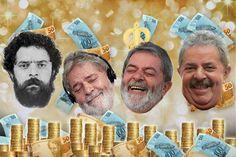 Se o assunto é dinheiro, Lula, 67, não tem com o que se preocupar. Aposentado e milionário, o ex-presidente saiu do poder há três anos, mas se transformou em uma máquina de arrecadar dinheiro com palestras, salários vitalícios, viagens, empresas e presença vip. Cercado de luxo, Lula recebe até hoje mordomias do governo e chega a cobrar mais que o dobro do seu antecessor, o ex-presidente Fernando Henrique Cardoso, por uma palestra de apenas uma hora. Nas imagens a seguir, o R7 detalha os…