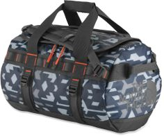 At REI Outlet: The North Face Base Camp Duffel X-Small. Comes in cool patterns and colors.