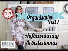 (1) How To I Teil 1: Aufbewahrungsideen fürs Arbeitszimmers I Deko-Inspirationen Selbstgemacht - YouTube