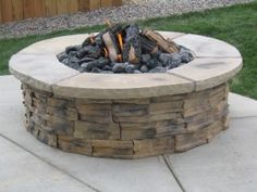 Learn how to make this fire pit, and how NOT to make a fire pit.