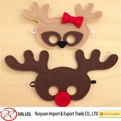 Children's Woodland Animal felt baby deer masks from alibaba China supplier