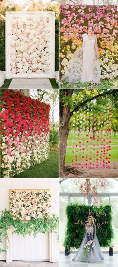 60 Prettiest Wedding Flower Decor Ideas Ever (No, Really) | Hi Miss Puff - Part 5 / http://www.himisspuff.com/wedding-flower-decor-ideas/5/