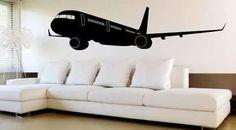 #avião #adesivo de parede