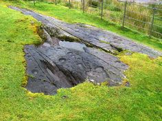 """Kilmichael Glassary Outcrop, Argyll and Bute, Scotland (J. Demetrescu 2007) 