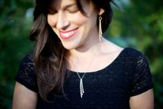 So excited for this new line of BEAUTIFUL jewelry by SimpleTwistJewelry... Simple Necklace by SimpleTwistJewelry on Etsy, $36.00