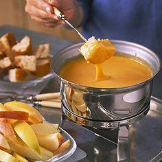 Colby Cheese Fondue - FamilyCircle.com