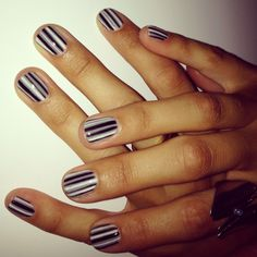 Stripes, gel polish ♥