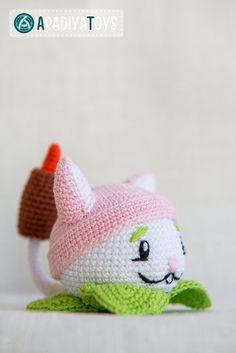 "Etsy: Crochet Pattern of Cattail from ""Plants vs Zombies"" by Aradiya (Pattern - R$7,25)*"