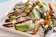 Green Dragon Sushi Roll