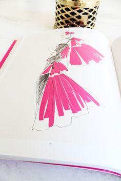 Marker fashion illustration.