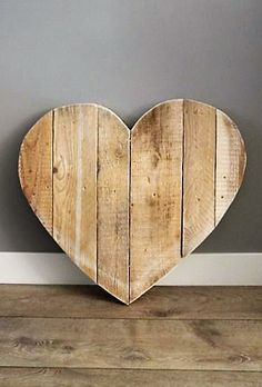 Recycle Wood Heart