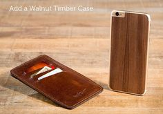 PadAndQuill - Valet Sleeve with Timber Cover