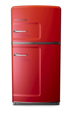 Big Chill - Large Fridge - Cherry Red