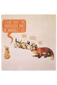 Rabbit Fear Card