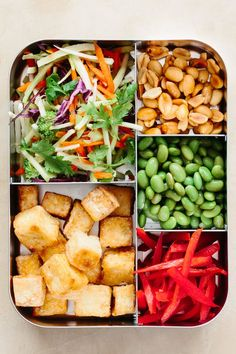 Recipe: Tofu and Broccoli Salad with Peanut Butter Dressing | Kitchn
