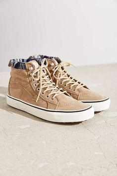 6042e7c753f528 Vans Sk8-Hi Woven Chevron MTE Sneaker - Urban Outfitters