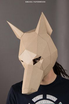Papercraft mask by SmagaPaperwood. For more mask designs visit our store!#masquerademask #costumeparty #papermask #diymask #animalmask #papermask #animalcostume #maskdesign #halloweenmask #cardboardmask#maskpattern #diyhalloweenmask #papercraftmask #3dmask #paperfacemask #printablepapermasks #3danimalmask #papermaskdesign #papercraftpatterns #diypapermask #uniquemasks #uniquehalloweencostumes #coolhalloweencostumes #animalcostumes #scarymasks #carnival