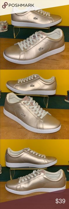 6da7bedb2 SALE💖LACOSTE CARNABY EVO Casual Sneakers Size 9.5 Very nice Casual pair of  LACOSTE CARNABY