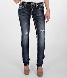 Rock Revival Madison Straight Stretch Jean--if i could wear a skinny jean these would be the ones FOR SURE!!