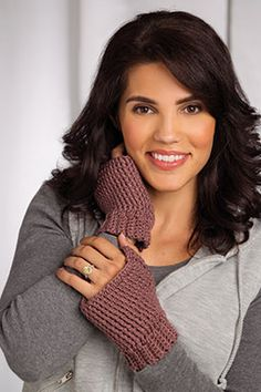 Essential Fingerless Mitts