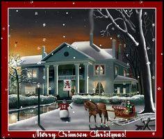 Merry Crimson Christmas to all