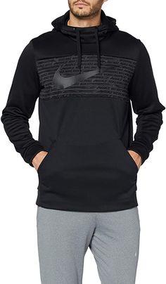 Amazon.com: Nike Men's Therma Pullover Hoodie (L, Black/Black): Clothing Nike Outfits, Nike Men, Pullover, Hoodies, Nike Clothes, Sweaters, Jackets, Amazon, Black