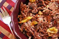 With Mississippi Pot Roast, however, the reason everyone is hooked is quite obvious: The comfort-food ingredients and its virtual effortless preparation.