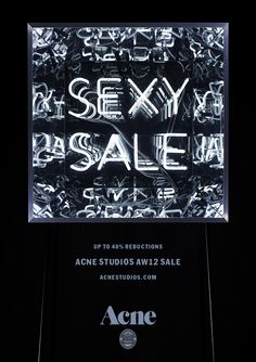 Acne Studios – Page 2 – hangmen Graphic Design Layouts, Layout Design, Typography Letters, Lettering, Sale Campaign, Green Lingerie, Best Natural Skin Care, For Sale Sign, Email Design