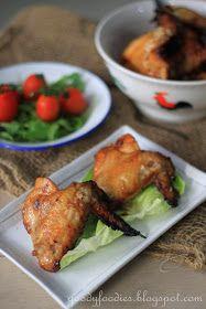 Recipe: Sticky Spiced Chicken Wings (Gordon Ramsay)