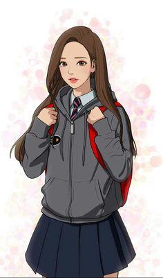 Ju-Kyung lim<-I loves thissss comic...readdd itttt! (it's called true beauty!)
