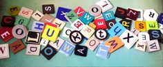 PICK YOUR LETTERS Scrabble Tiles Game by TopSuppliesAndGifts
