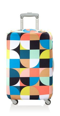 Luggage Cover Echo Circles // product graphics #productdesign