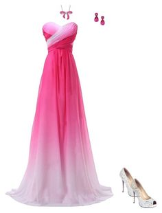 """""""prom idea #236"""" by animelovrr on Polyvore featuring Kate Spade, Amanda Rose Collection and Lauren Lorraine"""