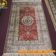 230L 3x5ft Handmade silk carpet in stock No. SP--3X5-18