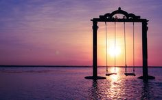 Ombak Sunset Swings I Gili Trawangan I Indonesia