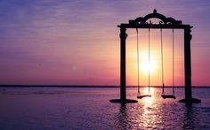 Ombak Sunset Swings I Gili Trawangan I Indonesia
