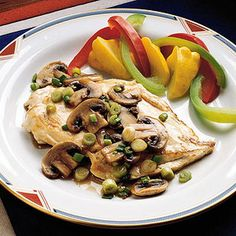 Marsala, Italy's most famous fortified wine, gives chicken an unforgettable flavor in this low-calorie recipe.