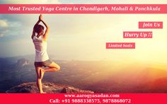Join #Yoga Centre In #Chandigarh #Aarogyasadan
