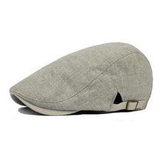Vintage Men s Cotton Beret Cap Casual Newsboy Hats c053cdae4fa2