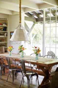 The Industrial Farmhouse Dining Room
