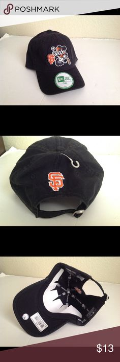 San Francisco Giants Mickey new era baseball hat This is brand new! Bought at the park never used it is for a child one size as it adjust in back. New Era Accessories Hats