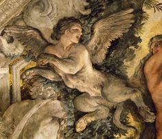 Berrettini Pietro, Pietro da Cortona Triumph of Divine Providence Italian Baroque, Baroque Art, Italian Painters, Italian Artist, Caravaggio, Le Sphinx, Symbolic Art, Bullen, Art Graphique