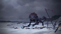 ArtStation - Fenrir, Clan of the Wolf - NORTHGARD, Jeremy Vitry