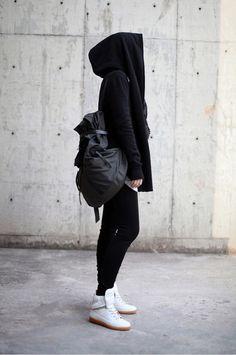 All black. #hijab
