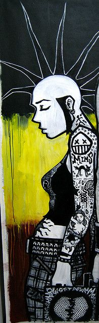 Punk Girl by MATT MIMS, via Flickr