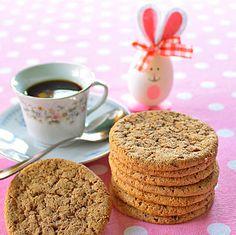 Cappuccino keksz -  Hozzávalók:   6 dkg vaj  8 dkg cukor 40 dkg cukrozott sűrített tej 1 teáskanál vaníliakivonat 20 dkg liszt 1 teáskanál sütőpor 2 evőkanál nescafe 1 teáskanál kakaó csipet só