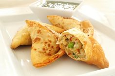 Indian Recipe: Savory Samosas   Anyone who is familiar with Indian food is probably familiar with this delicious appetizer. Samosas are a fr...